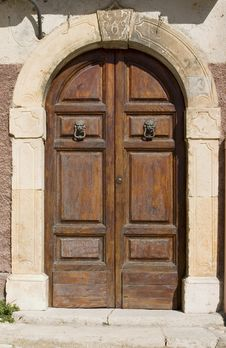 Free Middle Ages Domestic Portal Stock Images - 3311644