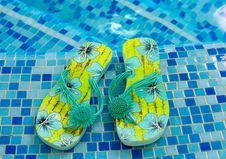 Sandals Flipflop Stock Image