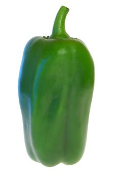 Free Green Pepper 2 Royalty Free Stock Photography - 3312457