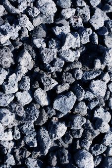 Texture Of Granite Blue Rubble Royalty Free Stock Photo