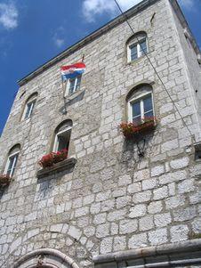 Building In Croatia Royalty Free Stock Image