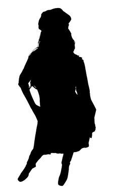 Free Silhouette With Clipping Path Stock Image - 3314281