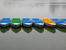 Boats On The Water Stock Image