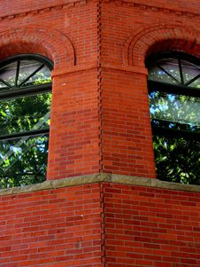 Free Brick Corner Walls Stock Images - 3315914