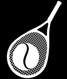 Free Two Collor Tennis Royalty Free Stock Images - 3317259