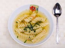 Free Soup, Broth Royalty Free Stock Images - 3317679