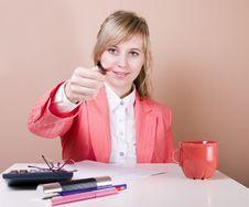 Free Businesswoman Select Stock Image - 3317951