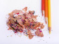 Free Coloured Pencils Stock Image - 3318371