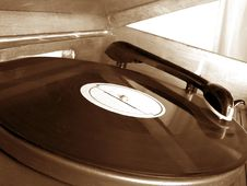 Phonograph Record Royalty Free Stock Image