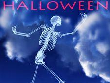 Free Halloween Xray Bone 2 Royalty Free Stock Photo - 3318465