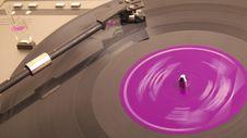 Phonograph Record, Royalty Free Stock Photo