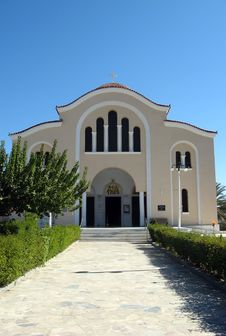 Free Greek Orthodox Church Stock Photography - 3318572