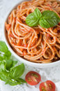 Free Pasta With Tomato Sauce Royalty Free Stock Image - 33105136