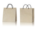 Free Brown Paper Bag On White Background Royalty Free Stock Photo - 33108445