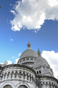 Free Sacré Coeur, Paris Stock Photos - 33102053