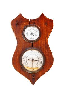 Free Vintage Barometer Royalty Free Stock Photo - 33104755