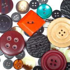 Free Buttons Stock Photography - 33104922