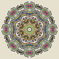 Ornamental Round Pattern Royalty Free Stock Image