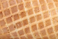 Free Closeup Of Wafer Background Texture. Royalty Free Stock Photos - 33107248