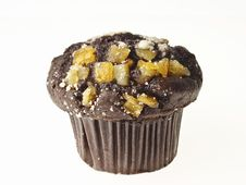 Free Choco Muffin Royalty Free Stock Photography - 33109767
