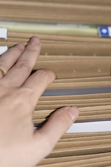 Free Looking For Documents Royalty Free Stock Photo - 33109825