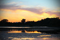 Free Dramatic Sunset Stock Photo - 33116030