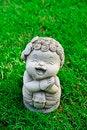 Free Girl Clay Doll Stock Photo - 33119870