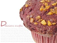 Free Muffin And Space Royalty Free Stock Photo - 33110365