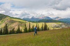 Free Photographer Nature Man Work Mountains Stock Image - 33110751