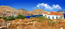 Free Scenic Greek Islands Royalty Free Stock Image - 33111016