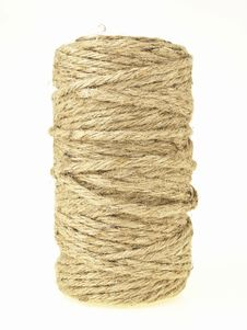 Free Hemp Rope Roll Royalty Free Stock Photos - 33111218