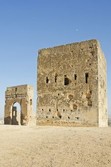 Moroccan Fort Stock Images