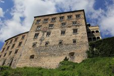 Pieskowa Skala Castle Poland. Royalty Free Stock Image