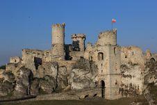 Free Ogrodzieniec Castle Ruins Poland. Stock Image - 33115521