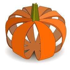 Free Abstract Applique Pumpkin On Halloween.  &x28;Eps10 Ve Royalty Free Stock Photos - 33115758