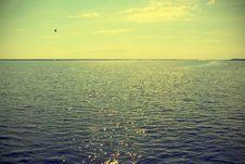 View At Lake Michigan Royalty Free Stock Photography