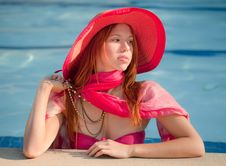 Free Pool Beauty Royalty Free Stock Photos - 33116498