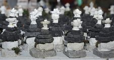 Free Alberobello - Small Models Of Trulli Have A Souvenir Stock Photography - 33117222