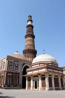 Qutb Minar - Delhi - India Stock Image