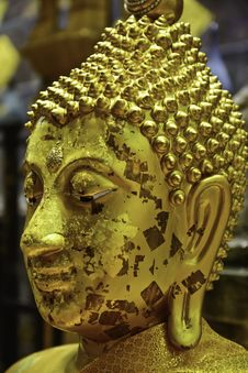 Free Buddha Head Stock Image - 33119661