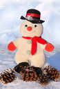 Free Funny Toy Snowman Royalty Free Stock Image - 33134336