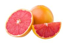 Free Ripe Grapefruits Royalty Free Stock Photo - 33133035