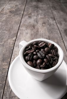 Free Coffee Beans Royalty Free Stock Photography - 33134977