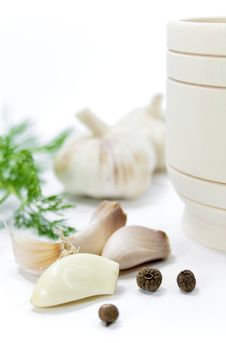 Free Garlic And Pepper Royalty Free Stock Image - 33135636