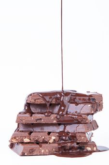 Free Chocolate Hazelnut Royalty Free Stock Photos - 33136158