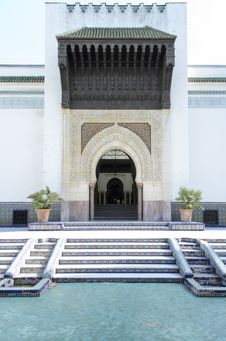 Paris Mosque Royalty Free Stock Photography