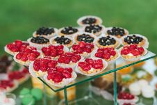 Mini Fruits Tarts Royalty Free Stock Photography