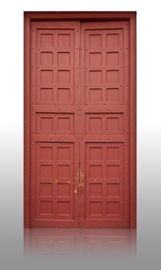 Free Wood Door Royalty Free Stock Images - 33137739