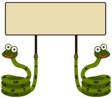 Free Snake Space Stock Image - 33140471