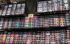 Free Sunglasses On A Market Stall. Stock Images - 33140914